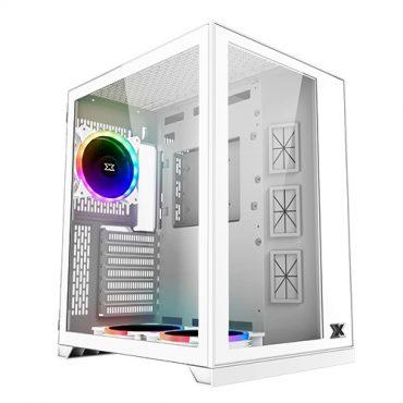 Gabinete Xigmatek Aquarius S Arctic 3 Fan RGB
