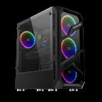 Gabinete Xigmatek Lamiya ATX 4 Fan RGB