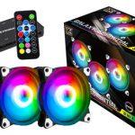 Pack 3 Fan Xigmatek Galaxy Premium RGB Con Hub y Control Remoto
