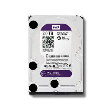 Hdd 3.5″ Wd Purple 2tb Sata3 IntelliPower Rpm